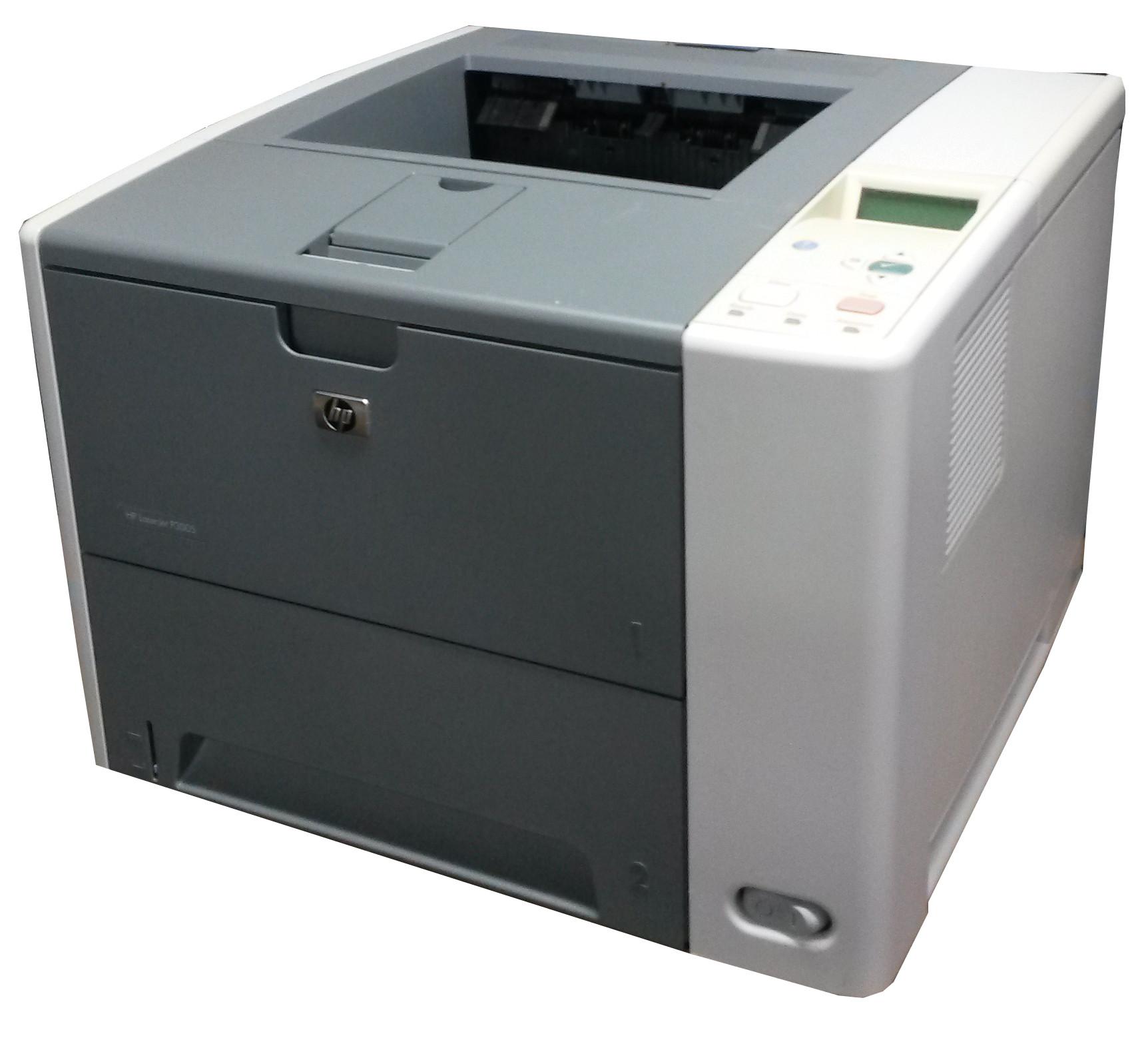Hp Laserjet P3005 Laser Printer Reconditioned